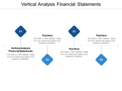 Vertical Analysis Financial Statements Ppt PowerPoint Presentation Styles Visuals Cpb