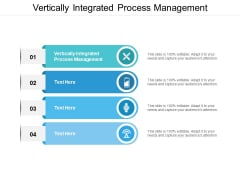 Vertically Integrated Process Management Ppt PowerPoint Presentation Gallery Vector Cpb