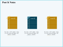Vicious Circle Effect On Quality Assurance Post It Notes Ppt Infographics Brochure PDF