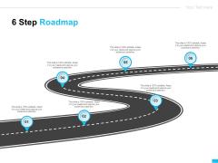 Video Ads 6 Step Roadmap Ppt Portfolio Maker PDF
