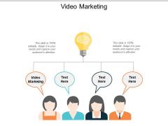 Video Marketing Ppt PowerPoint Presentation Summary Themes Cpb