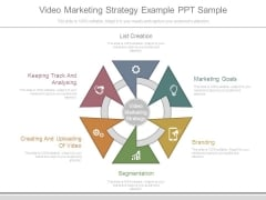 Video Marketing Strategy Example Ppt Sample