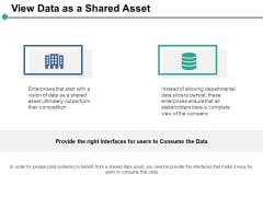 View Data As A Shared Asset Ppt PowerPoint Presentation Portfolio Good