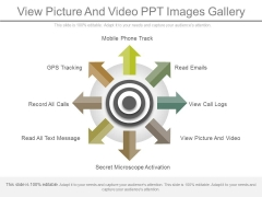 View Picture And Video Ppt Images Gallery
