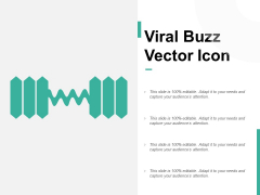 Viral Buzz Vector Icon Ppt PowerPoint Presentation Inspiration Tips