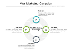Viral Marketing Campaign Ppt PowerPoint Presentation Slides Example Introduction Cpb