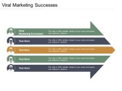 Viral Marketing Successes Ppt PowerPoint Presentation Ideas Inspiration Cpb