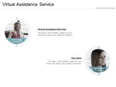 Virtual Assistance Service Ppt Powerpoint Presentation Slides Model Cpb