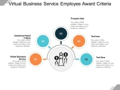 Virtual Business Service Employee Award Criteria Prospect Sale Ppt PowerPoint Presentation Inspiration Backgrounds