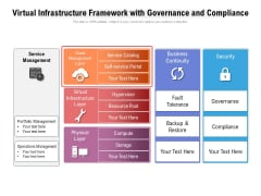 Virtual Infrastructure Framework With Governance And Compliance Ppt PowerPoint Presentation Gallery Outfit PDF