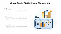 Virtual Reality Mobile Phone Platform Icon Ppt PowerPoint Presentation Gallery Display PDF