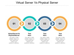 Virtual Server Vs Physical Server Ppt PowerPoint Presentation Model Smartart Cpb