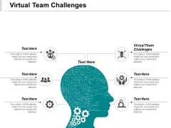 Virtual Team Challenges Ppt PowerPoint Presentation Slides Show