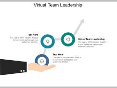 Virtual Team Leadership Ppt PowerPoint Presentation Model Master Slide