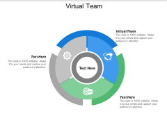Virtual Team Ppt PowerPoint Presentation Inspiration Graphic Tips Cpb