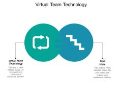 Virtual Team Technology Ppt PowerPoint Presentation Portfolio Slideshow Cpb