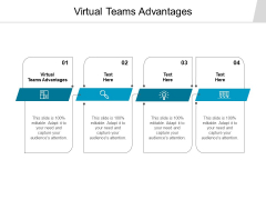 Virtual Teams Advantages Ppt PowerPoint Presentation Pictures Background Designs Cpb