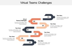 Virtual Teams Challenges Ppt PowerPoint Presentation Icon Graphics Download Cpb