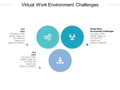 Virtual Work Environment Challenges Ppt PowerPoint Presentation Professional Grid Cpb Pdf