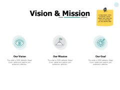 Vision And Mission Ppt PowerPoint Presentation File Infographics
