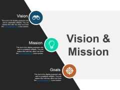 Vision And Mission Ppt PowerPoint Presentation Gallery Picture