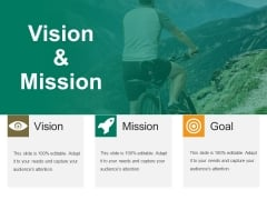 Vision And Mission Ppt PowerPoint Presentation Icon Themes