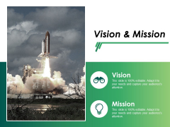 Vision And Mission Ppt PowerPoint Presentation Ideas Format Ideas