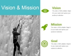 Vision And Mission Ppt PowerPoint Presentation Infographics Designs Download