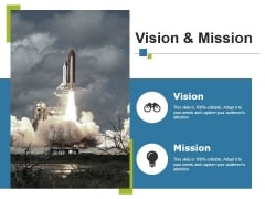 Vision And Mission Ppt PowerPoint Presentation Infographics Rules
