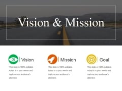 Vision And Mission Ppt PowerPoint Presentation Model Guidelines
