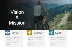Vision And Mission Ppt PowerPoint Presentation Portfolio Slides