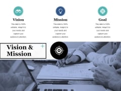 Vision And Mission Ppt PowerPoint Presentation Show Objects