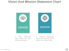Vision And Mission Statement Chart Ppt PowerPoint Presentation Topics