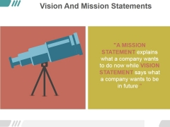 Vision And Mission Statements Ppt PowerPoint Presentation Sample
