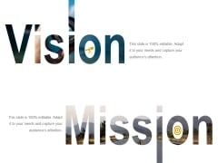 Vision And Mission Template 2 Ppt PowerPoint Presentation Infographic Template Inspiration