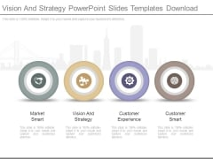 Vision And Strategy Powerpoint Slides Templates Download
