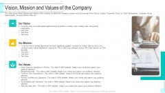 Vision Mission And Values Of The Company Themes PDF