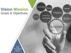 Vision Mission Goals And Objectives Example Of Ppt