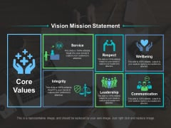 Vision Mission Statement Ppt PowerPoint Presentation File Examples