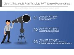 Vision Of Strategic Plan Template Ppt Sample Presentations