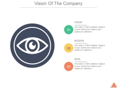 Vision Of The Company Template 1 Ppt PowerPoint Presentation Sample