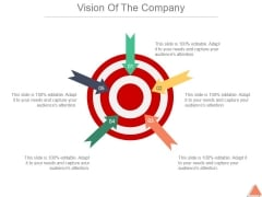 Vision Of The Company Template 2 Ppt PowerPoint Presentation Slides