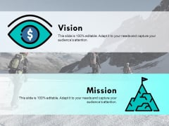 Vision Our Mission Ppt PowerPoint Presentation Icon Outfit