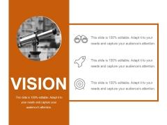Vision Ppt PowerPoint Presentation Ideas Background Designs