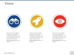 Vision Ppt PowerPoint Presentation Ideas Gallery