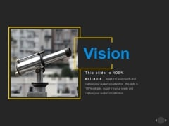 Vision Ppt PowerPoint Presentation Infographic Template Diagrams