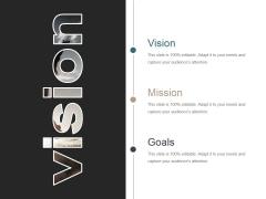 Vision Ppt PowerPoint Presentation Infographics Design Inspiration