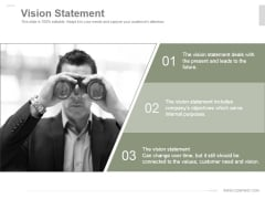 Vision Statement Ppt PowerPoint Presentation Information