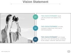 Vision Statement Ppt PowerPoint Presentation Layouts