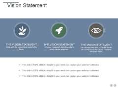Vision Statement Ppt PowerPoint Presentation Outline Guide